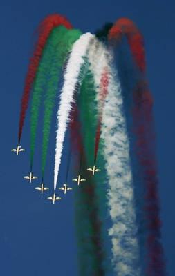 Frecce Tricolori Dubai air show