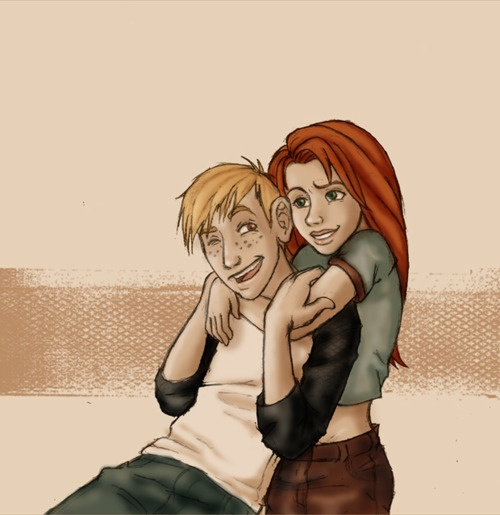 Kim and Ron...cutest thing I've ever seen! But that could be because of how hard I shipped them AND that was before I even knew what that was:)