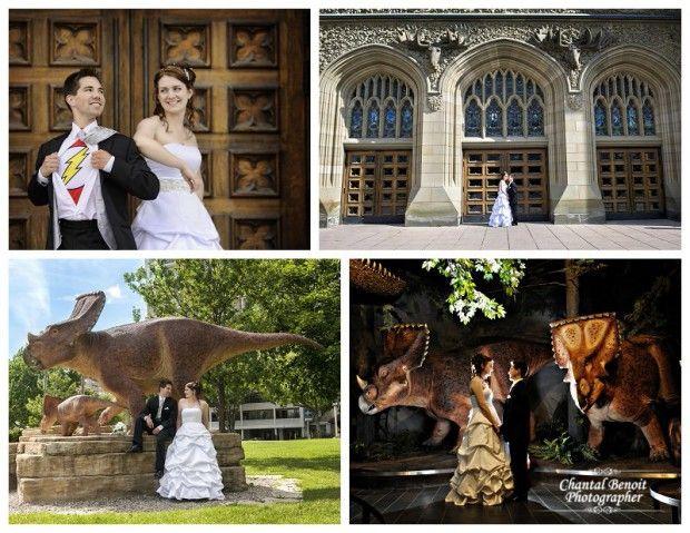 Museum of Nature wedding