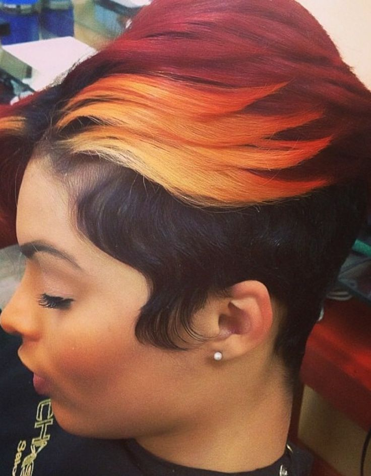 short hairstyles for black women pinterest Short pixie haircuts for women - with & without long bangs - great hairstyles for round faces. Thick waves, very feminine. teamblackhurromg http://www.shorthaircutsforblackwomen.com/coconut-oil-for-hair