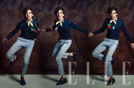 Mika for Elle magazine