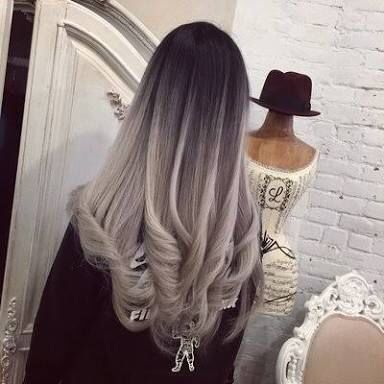 Black Blonde Balayage Haircolours Pinterest Blondes