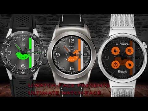 Ultimate WatchFace made for Android wear