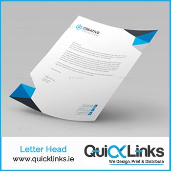 Order your letterheads now at quicklinks.ie/product-catego… and for any query call us at 019065862