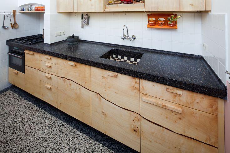 Keukenkasten Zonder Deuren : ... Keuken op Pinterest - Esdoorn ...