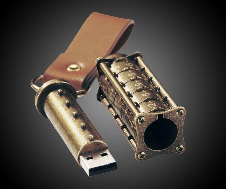 Cryptex USB Flash Drive | DudeIWantThat.com