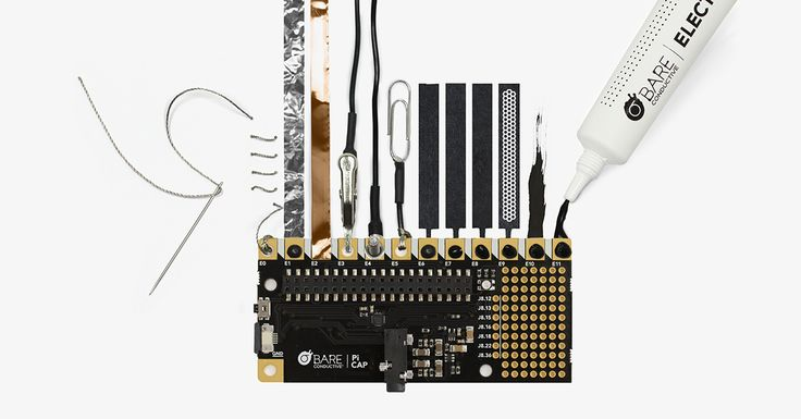 Check what other conductive materials you can connect to the Pi Cap and get creative!