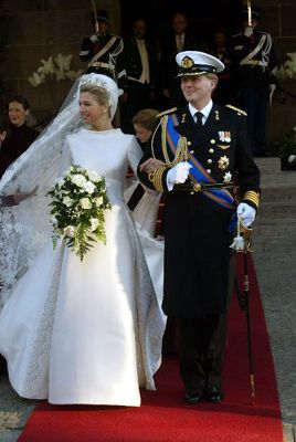 Het Huwelijk op 02-02-2002/The Royal Wedding on 2002-02-02 of Willem Alexander and Maxima