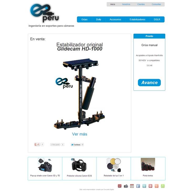 E2 Perú - Soportes y accesorios para cámaras