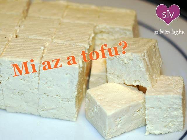 Mi az a tofu? - Szilvi ÍzVilág
