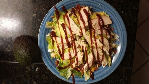 Bar-Q chicken salad