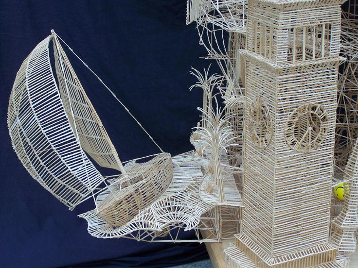 Toothpick Sculpture 52 best toothpick creations images on pinterest | toothpick