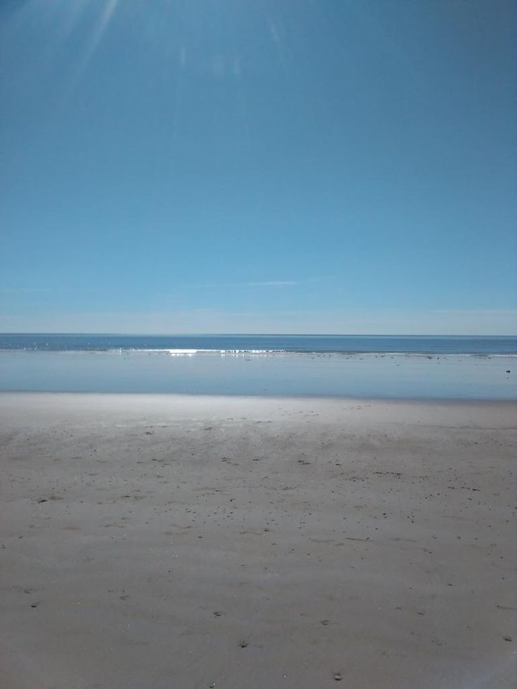 Beautiful beach this morning...