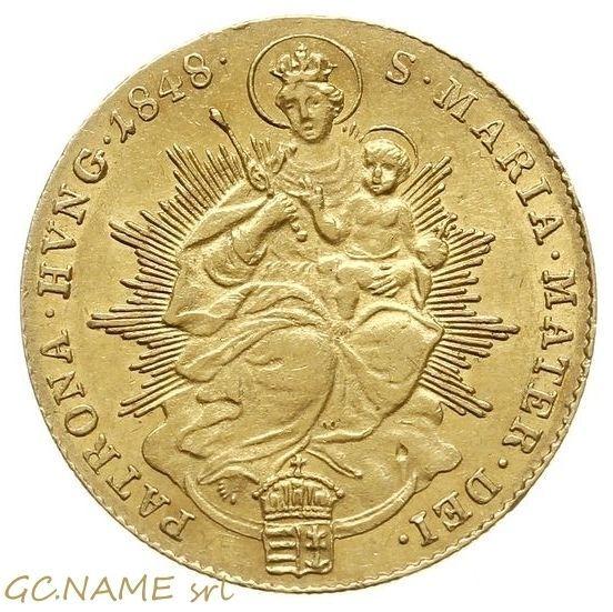 Hungary: Ferdinand V (1835-48), Gold Ducat, 1848,  Kremnitz Mint. Oro Or #432