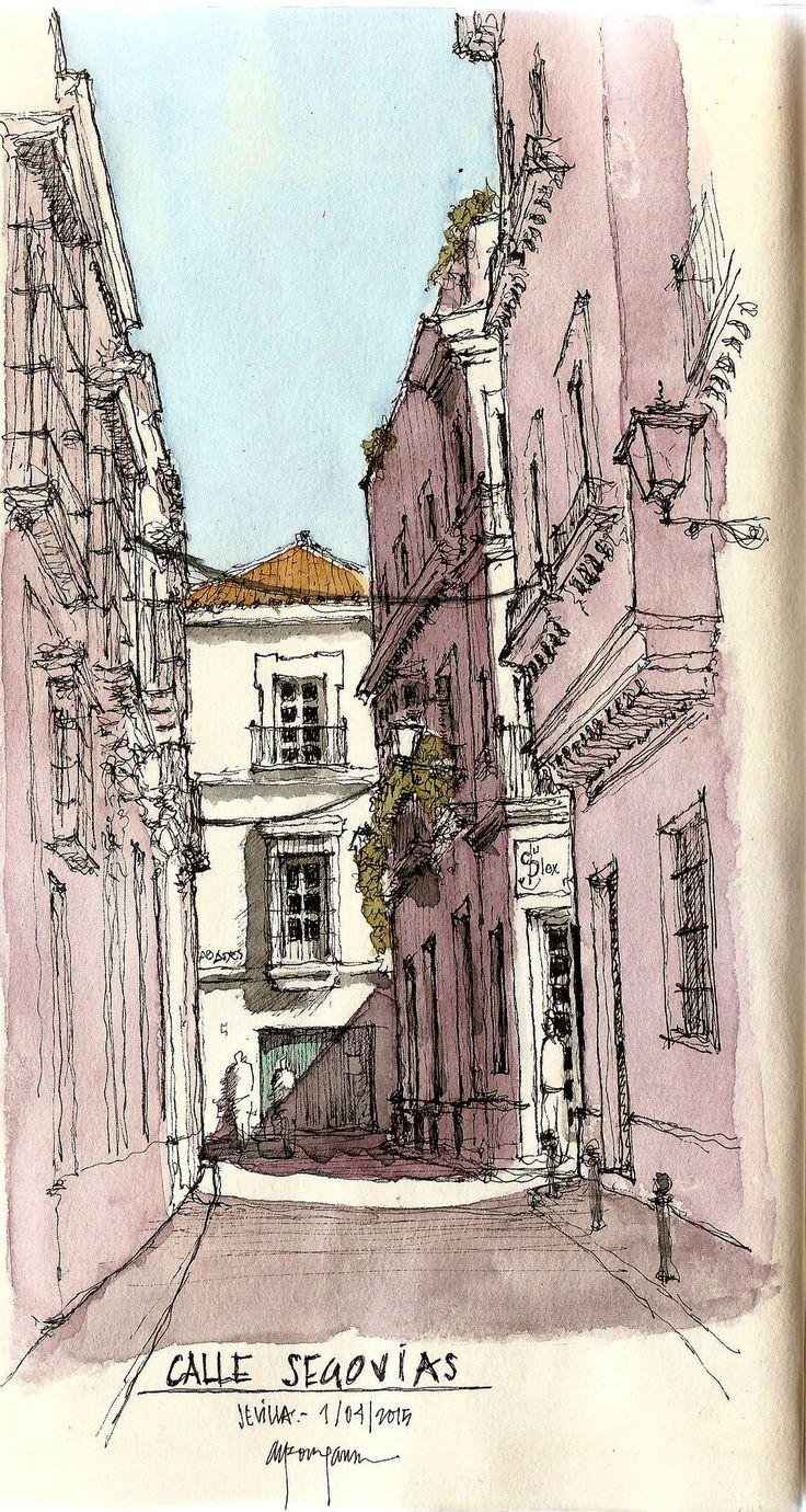 Calle Segovias, Alfonso García García AG