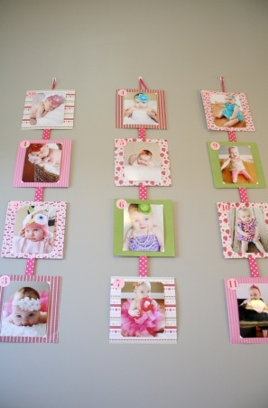 Picture Collage - a fun gift for grandparents!