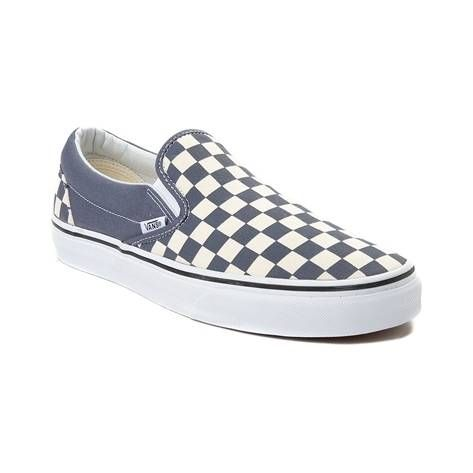 p Slip into the timeless skate style of the Slip On Chex Skate Shoe from  Vans. These Slip On Skate Sneakers embody iconic skate design 188e602e8