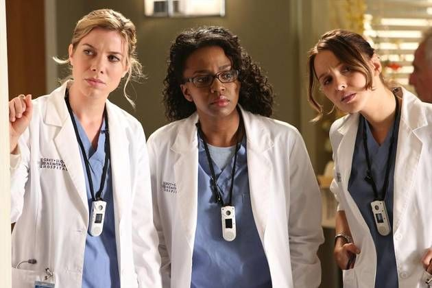 """Leah Murphy, Stephanie Edwards, and Jo Wilson in Grey's Anatomy Season 10, Episode 2: """"I Want You With Me"""""""
