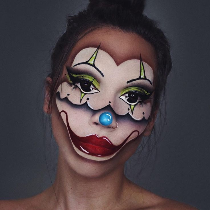 NOT It. Body Painting with Makeup Effects. By lunafortun.