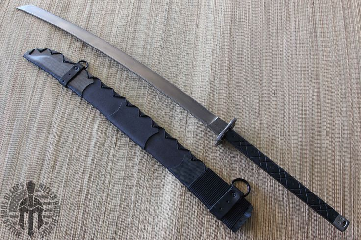 Miller Bros. Blades Custom Katana. This model is available in Z-Wear PM, and Z-Tuff PM steel. Miller Bros. Blades Custom Handmade Knives, Swords & Tomahawks.