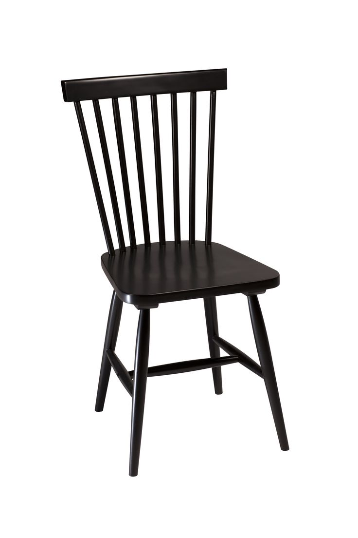 AGNES Chair in black lacquer