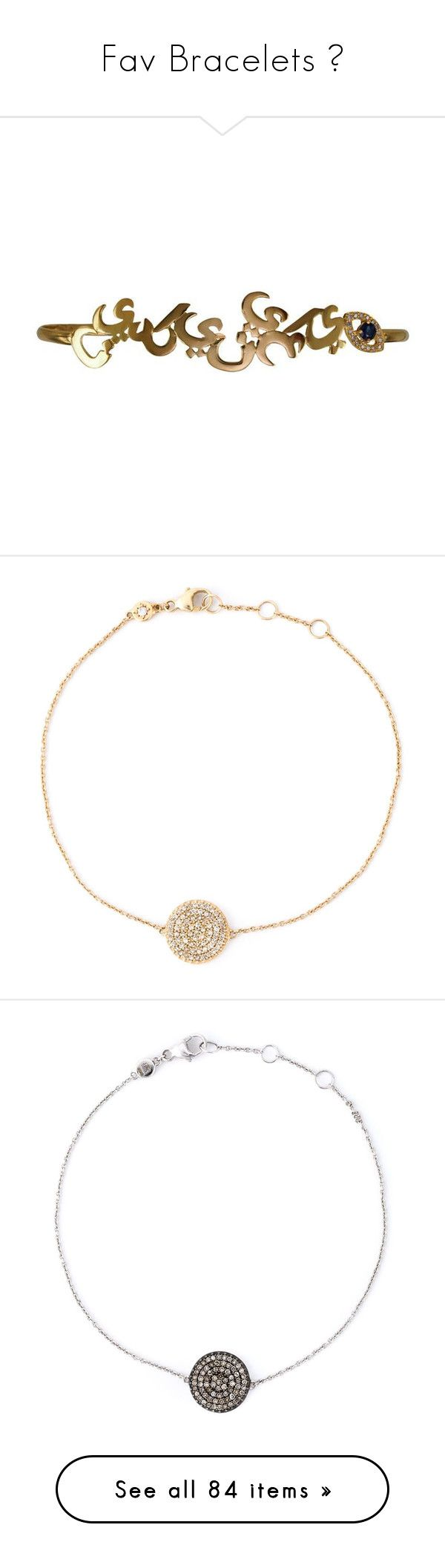 """Fav Bracelets 🍦"" by doggydoddyfroggymoppy ❤ liked on Polyvore featuring jewelry, bracelets, yellow gold bangle, 18k gold jewellery, handcuff jewelry, palm jewelry, gold bangles, metallic, givenchy and white gold bangle"