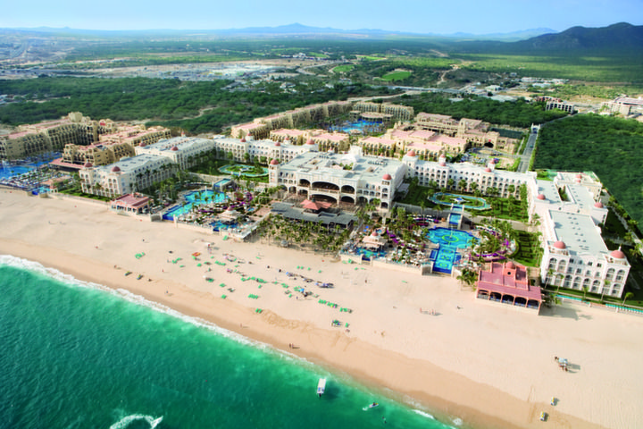 RIU Santa Fe is located on the beach just outside of Cabo San Lucas and just a short water taxi ride to the marina. RIU Santa Fe Cabo all inclusive packages are a great way to celebrate many different occasions.