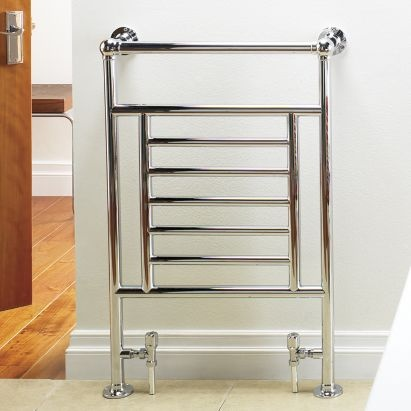 Kudox Vera Midi Towel Warmer Chrome, (W)610 x (H)914mm, 5060235341670