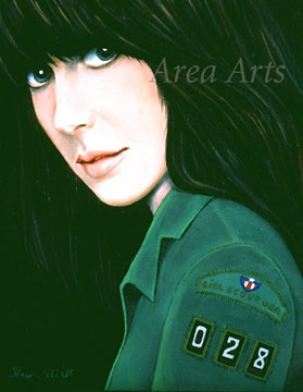 Painted by Grace Slick