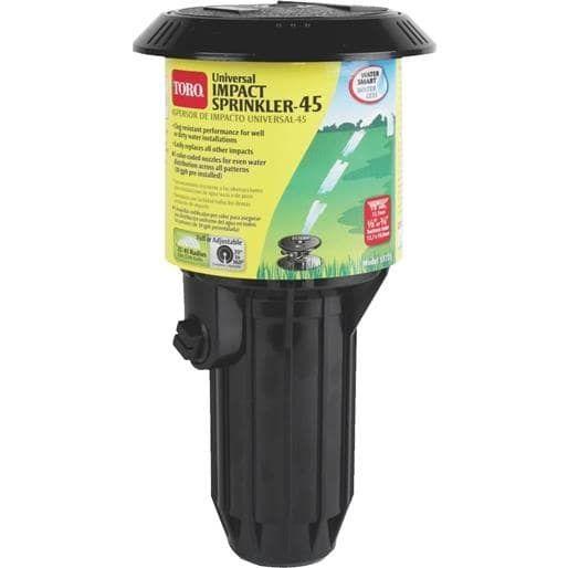 Toro Irrigation Pop-Up Impulse Sprinkler 53721 Unit: Each, Green grass, Gardening