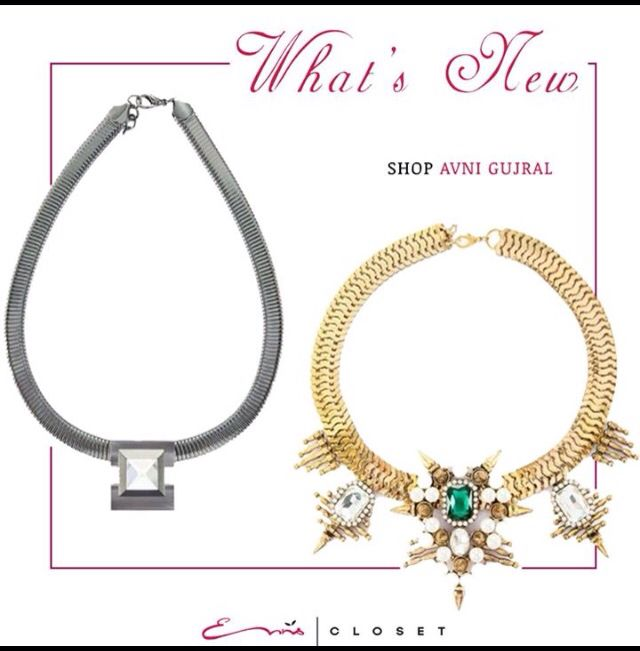 Jewellery by Avni Gujral now on www.ennscloset.com. Do check us out. #jewellerybyavnigujral #statementjewellery @jewellery_by_avni_gujral #onlineshopping #shoppingmadeeasy