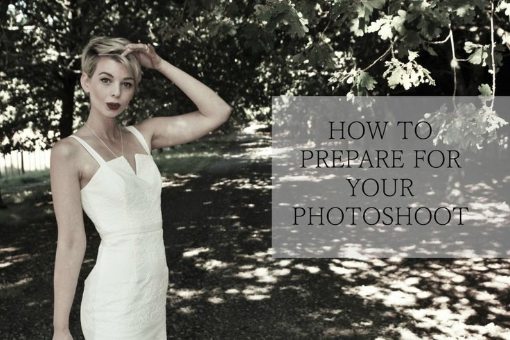 How to prepare for a fashion photoshoot