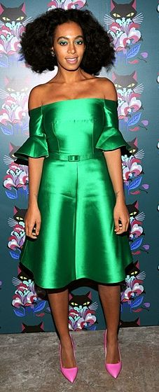 Solange Knowles wears Carven at the Spark & Light screening