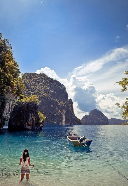 ╰☆╮Paradise Island, near Ao Nang, Thailand **....♡♥♡♥♡♥Love★it