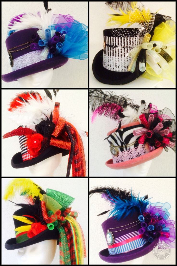Customized tophats for Carnaval • vastelaovend • Karneval. Like? Get your's @ www.btstyling.nl