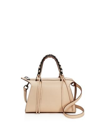 ELENA GHISELLINI Gabria Mini Leather Satchel. #elenaghisellini #bags #shoulder bags #hand bags #leather #satchel #
