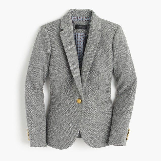 Campbell blazer in Donegal wool
