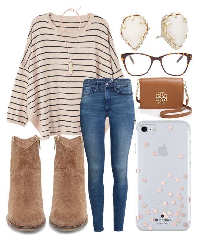 """Black Friday "" by jadenriley21 on Polyvore featuring MANGO, H&M, Kate Spade, Steve Madden, Kendra Scott, Tory Burch and Prism"