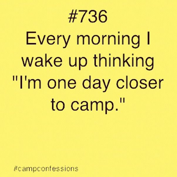 #campconfessions