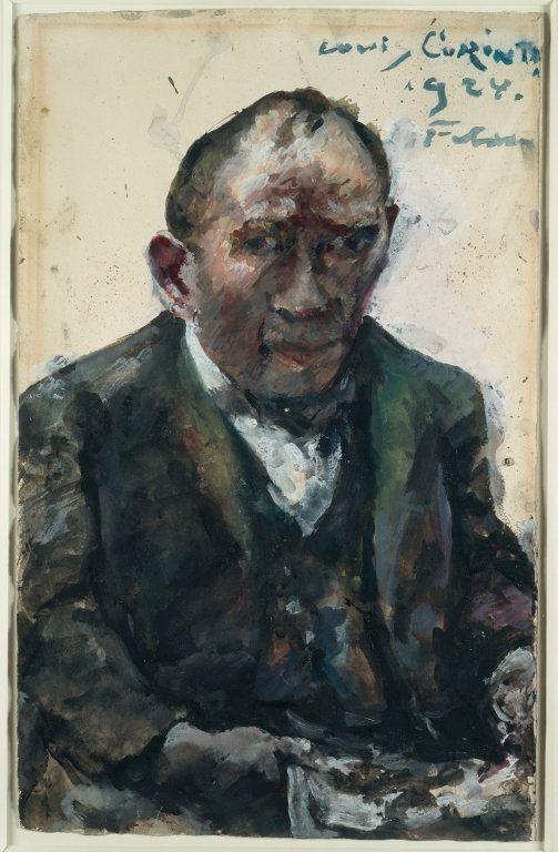 Self-Portrait by Lovis Corinth, 1924