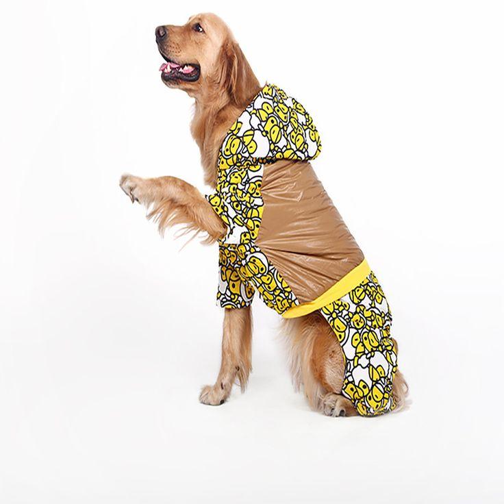 Pet Warm Costume Dog Clothes Chihuahua Puppies Pets Jumpsuit Coats Winter Manteau Chien Labrador Coat Chaqueta Esqui 80A0018