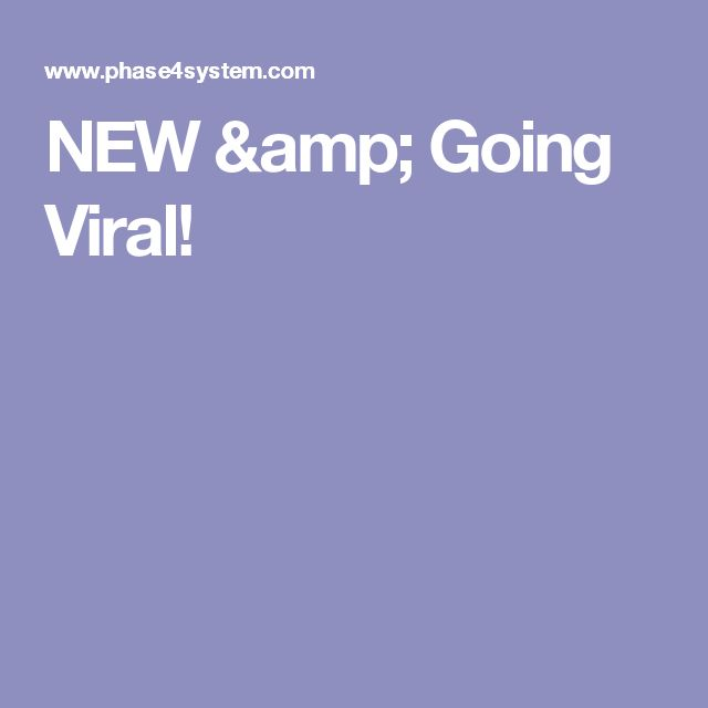 NEW & Going Viral!