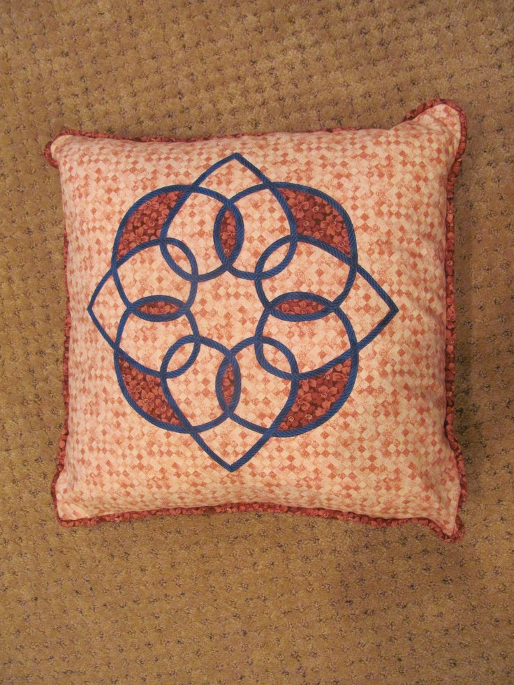 Celtic Design - cushion $35.00    Plus Handling and Shipping   contact: marilynpearson2@gmail.com