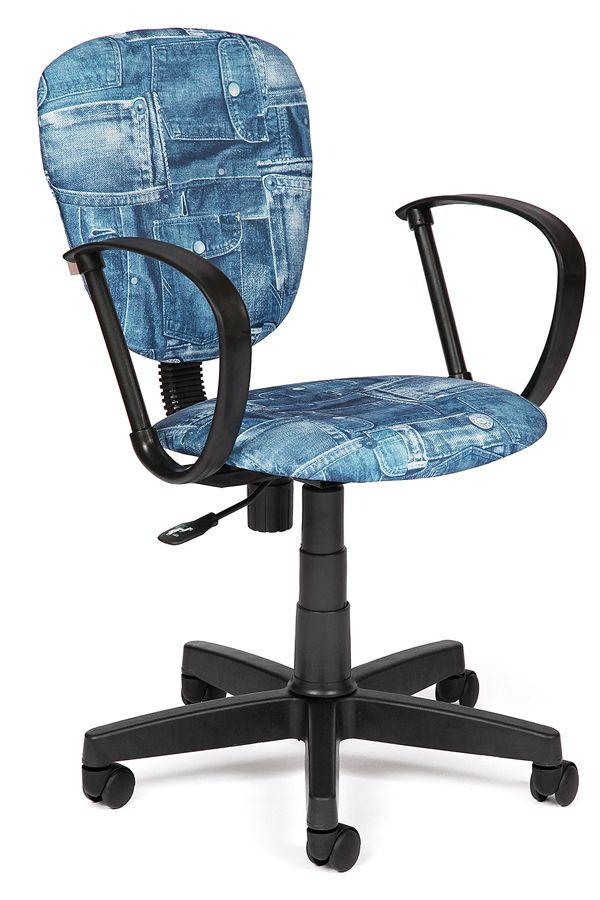 Это восхитительное компьютерное кресло под «джинс» в интерьере детской комнаты будет смотреться очень интересно и необычно! Помимо яркого дизайна, кресло обладает рядом неоспоримых преимуществ. Регулировка наклона позволяет фиксировать спинку кресла в правильном положении, что помогает позвоночнику снять напряжение после тяжелого учебного дня. Ткань, которой обшито кресло, очень устойчива к износу, поэтому прослужит долгие годы. Сиденье может регулироваться по высоте, что позволит обеспечить…