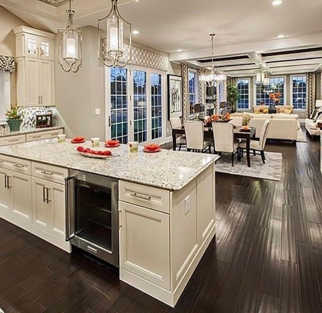 Open Kitchen Dining And Living Room Look Open Concept Kitchen Living Room Kitchen Concepts Open Concept Living Room