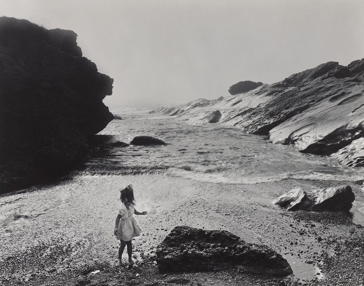 Lynne, Point Lobos    photo by Wynn Bullock, 1956