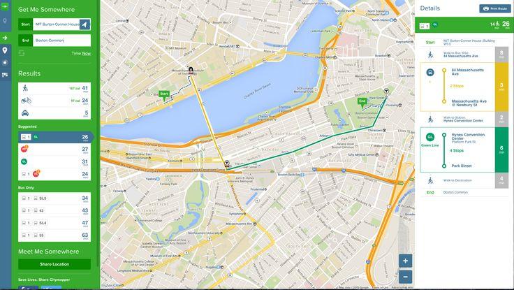 City Mapper UX Fantastic Experience.