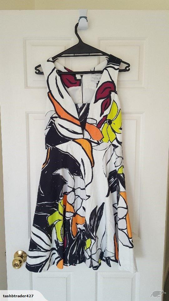 Veronika Maine Artwork Dress | Trade Me
