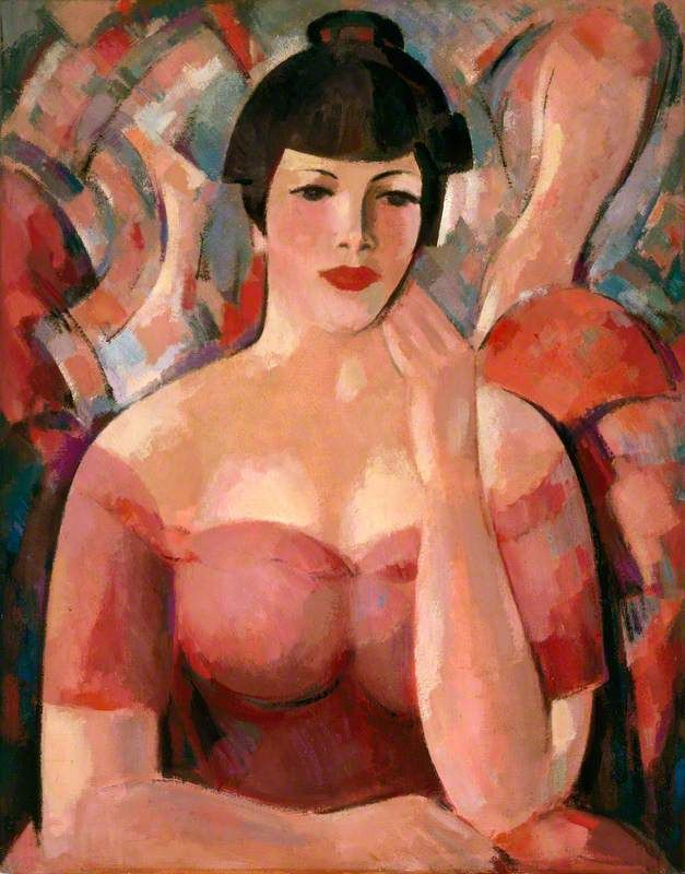 'Girl with a Bang', John Duncan Fergusson, 1947