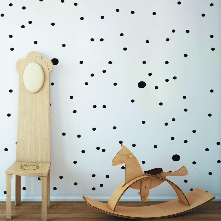 Tapeta Black Dots - kolekcja - Sklep Toto Design